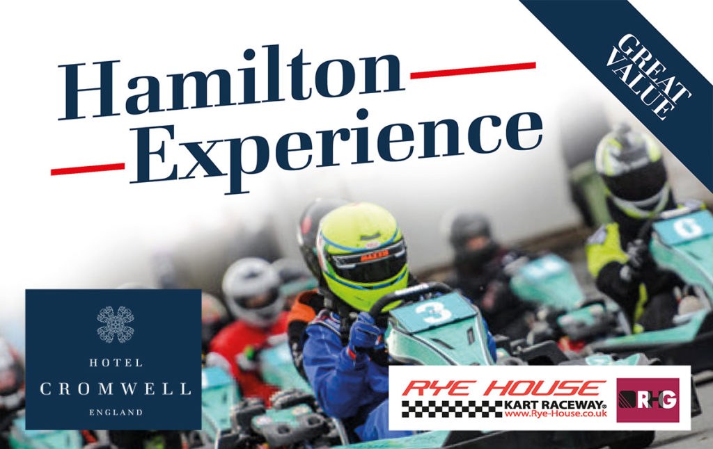 Hamilton Experience - Karting, Accommodation and Breakfast